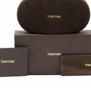 Tom Ford eyeglass case w/box & authenticity card